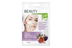 Маска для лица Экспресс питание и омоложение Beauty Derm 15мл