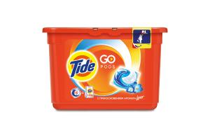 Капсулы для стирки С прикосновением аромата Lenor Go Pods Tide 15шт