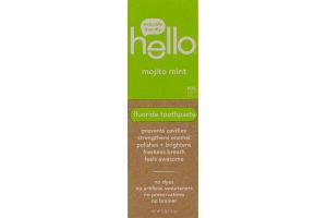Hello Fluoride Toothpaste Mojito Mint