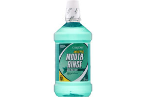 CareOne Antiseptic Mouth Rinse Green Mint