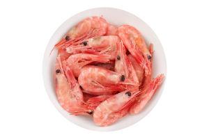 Креветки в панцире варено-мороженые 150+ Polar Seafood с/г кг