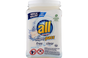 All With Stainlifters Mighty Pacs Free Clear - 67 CT