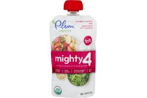 Plum Organics Mighty 4 Strawberry, Banana, Kale, Greek Yogurt, Oat & Amaranth
