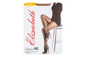 Колготки жіночі Elizabeth Classic 40den 4 visone
