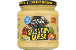On The Border Salsa Con Queso