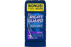 Right Guard Sport Antiperspirant & Deodorant Invisible Solid Active