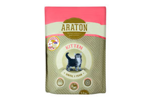 Корм для котят Araton Kitten