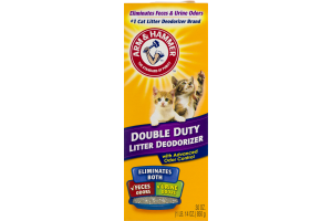 Arm & Hammer Double Duty Litter Deodorizer with Advanced Odor Control