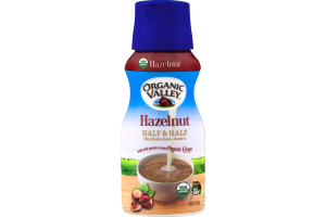 Organic Valley Half & Half Hazelnut
