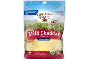 Organic Valley Mild Cheddar Cheese Finely Shredded