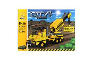 Іграшка City ET конструктор Будівельна техніка арт.SM807 х6