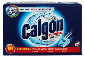Засіб для пом'якшення води у пральних машинах Calgon 3 в 1 в таблетках 30 шт