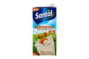 Напій мигдальний ультрапастеризований 2,2% Сантал (Тетра Брік 1л)