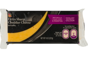 Ahold Natural Cheese Extra Sharp Cheddar