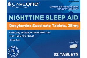 CareOne Nighttime Sleep Aid - 32 CT