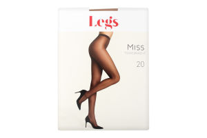 Колготки Legs жіночі naturale 1/2 20den 110