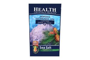 Соль для ванн с эфирным маслом сосны Crystals Health 500г