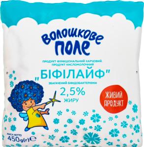 Біфілайф Волошкове Поле 2,5% 500г п/е