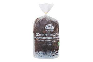 Хлеб с ядром семечек подсолнечника нарезной Ржаное наслаждение Скиба м/у 400г
