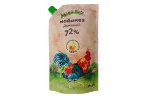 Майонез 72% Домашний Гуляй-поле д/п 350г