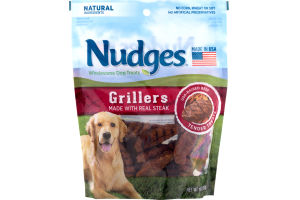 Nudges Wholesome Dog Treats Grillers