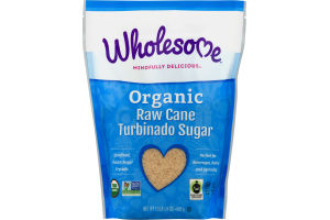 Wholesome! Organic Turbinado Raw Cane Sugar