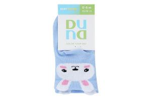 Шкарпетки для немовлят Duna №4106 8-10 голубий