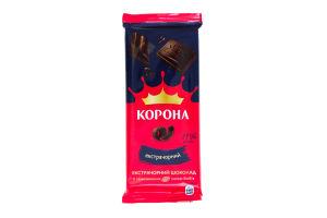 Шоколад Екстрачорний Корона 90г