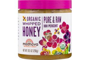 Madhava Organic Whipped Honey Pure & Raw