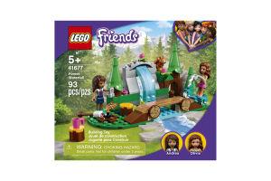Конструктор для детей от 5лет №41677 Forest Waterfall Friends Lego 1шт