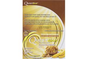 QuestBar Protein Bar Banana Nut Muffin - 12 CT