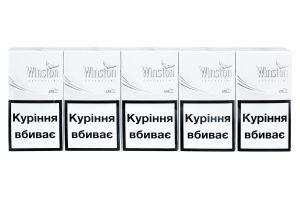 Цигарки Winston Super Slims White