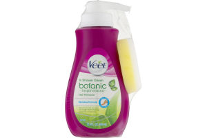 Veet Botanic Inspirations In Shower Cream Hair Remover Sensitive Formula