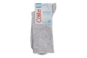 Шкарпетки жіночі Conte Active №20С-20СП 25 000 світло-сірий