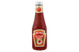 Кетчуп Гострий Heinz с/бут 342г