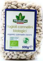 Фасоль каннеллини Bioitalia м/у 500г