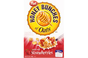 Post Honey Bunches of Oats Strawberry Cereal