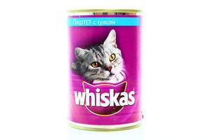 Корм для кошек паштет с тунцом Whiskas ж/б 400г