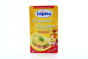 Сир Exquisa з інжиром та гірчицею 60% 110г Німеччина нарізка