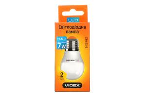 LED лампа VIDEX G45e 7W E27 4100K 220V