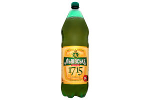 Пиво Львовское 1715 Премиум лагер пэт 4,2% 2,4л