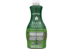 Suja Organic Elements + Supergreens Vegetable & Fruit Juice Drink Power Greens