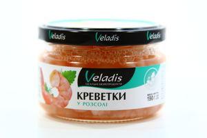 Креветки Veladis у розсолі с/б 190г
