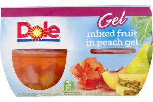 Dole Mixed Fruit in Peach Gel - 4 CT