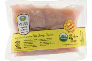 Wise Organic Pastures Breast Fillets Boneless Skin