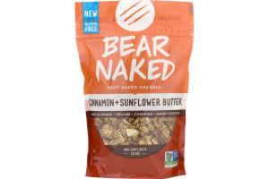 Bear Naked Soft Baked Granola Cinnamon + Sunflower Butter