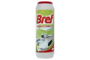 Порошок чистящий Яблоко Эффект соды Bref 500г