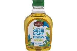 Madhava Organic Golden Light Blue Agave Sweetener