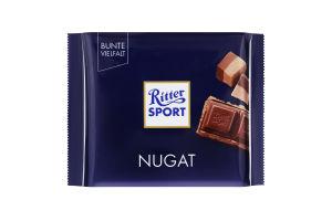 Шоколад Ritter sport 100г nugat