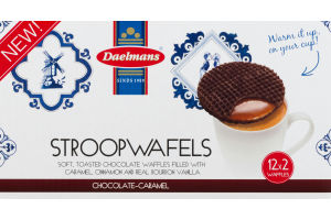 Daelmans Chocolate-Caramel Stroopwafels Duo-Pack